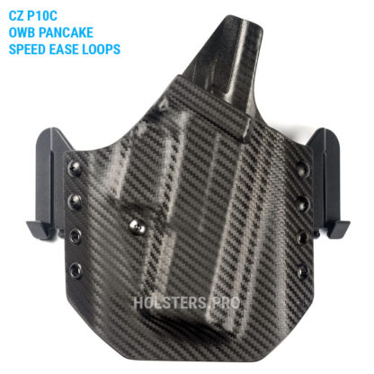 CZ P10C owb carbon holster