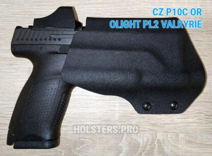 CZ P10c olight pl2 valkyrie